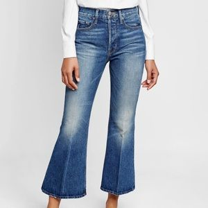 NWT! FRAME Le Cropped Flare Jeans 29